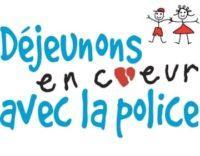 Fondation En Coeur - Déjeunons En Coeur avec la police