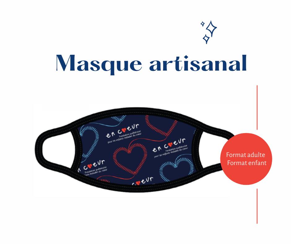 Visuel des masques offerts par la fondation
